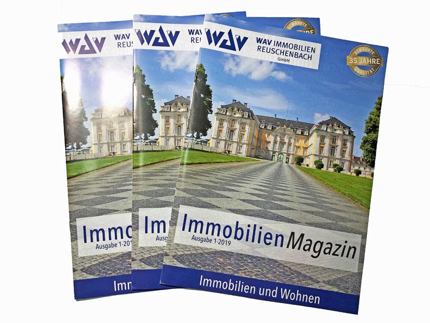 Immobilienmagazin WAV Immobilien Reuschenbach
